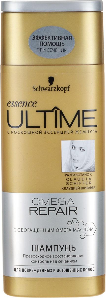 Essence Ultime Шампунь Omega Repair, для поврежденных и истощенных волос, 250 мл лак elastin flexc ontrol 300мл ultime