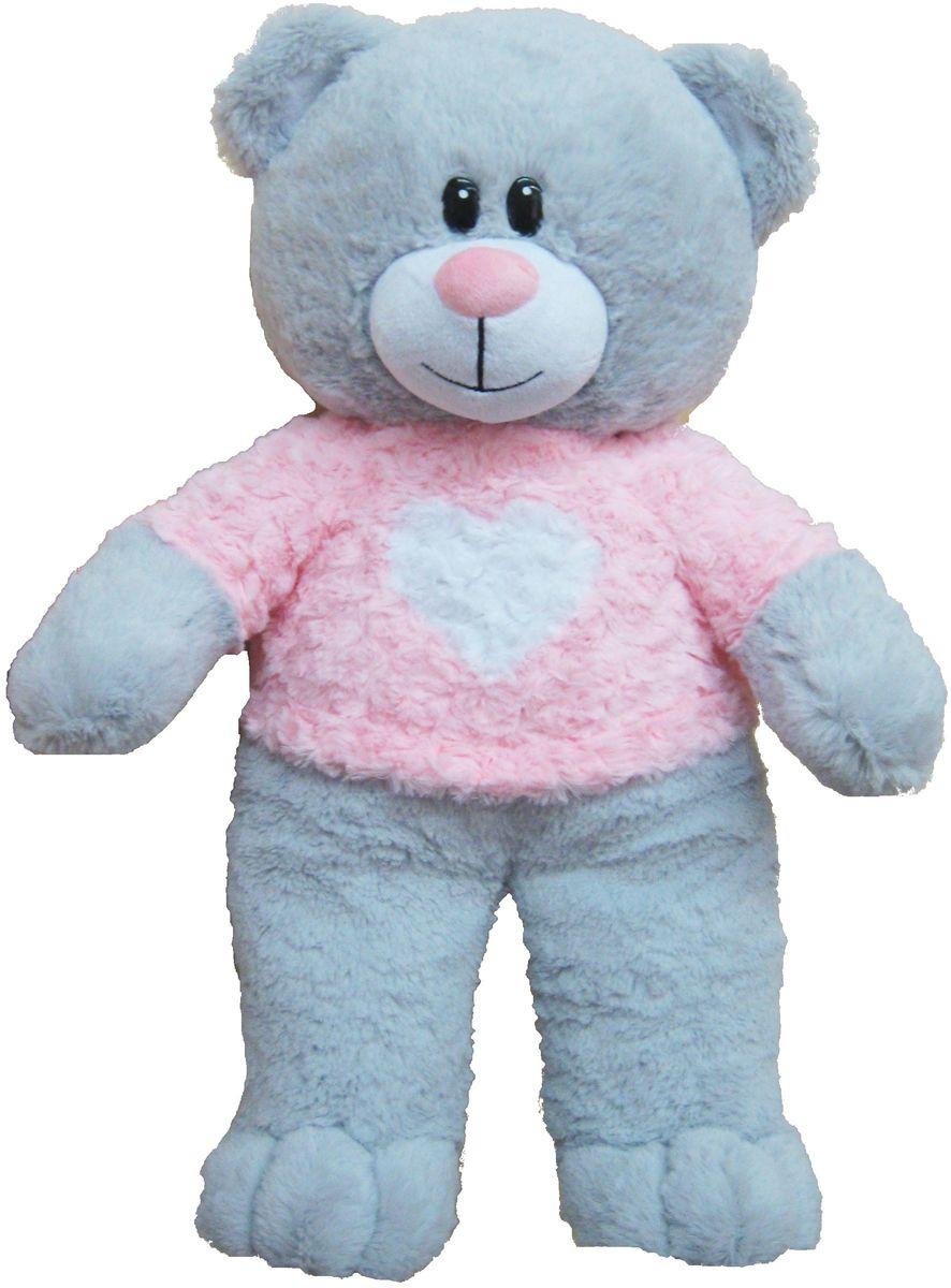 СмолТойс Мягкая игрушка Медвежонок Афоня 66 см мягкая игрушка смолтойс медвежонок тедди коричневый 30 см