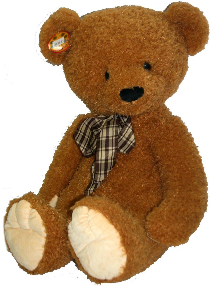 СмолТойс Мягкая игрушка Медвежонок Крис 80 см мягкая игрушка смолтойс медвежонок тедди коричневый 30 см