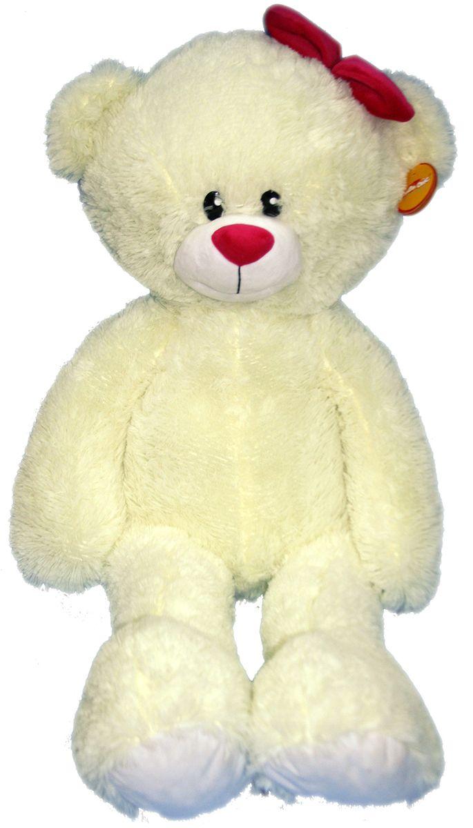 СмолТойс Мягкая игрушка Мишка Лапа цвет молочный 103 см смолтойс мягкая игрушка антистресс 31 см 2898 жл 31