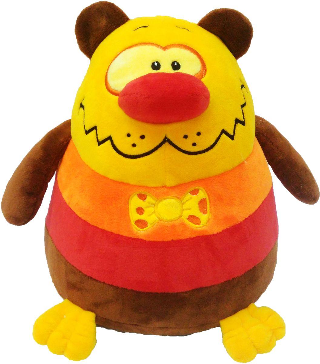 СмолТойс Мягкая игрушка Медвежонок шарик 26 см мягкая игрушка смолтойс медвежонок тедди коричневый 30 см