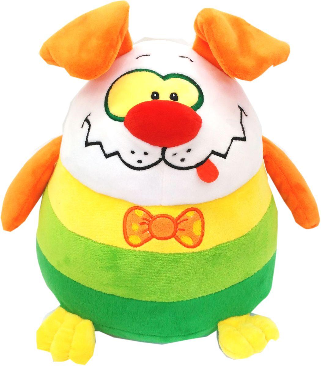 СмолТойс Мягкая игрушка Щенок-шарик 27 см мягкая игрушка смолтойс щенок рокки 52 см молочная