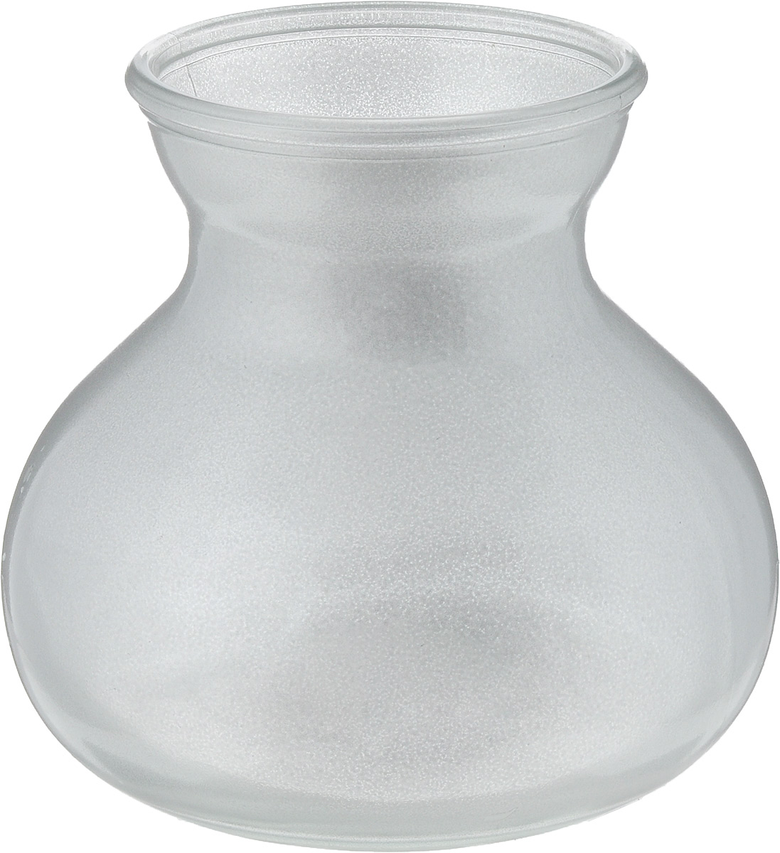 Ваза NiNaGlass Дана, цвет: серебро, высота 16 см92-024 СЕРЕБВаза NiNaGlass Дана выполнена из высококачественного стекла и имеет изысканный внешний вид. Такая ваза станет ярким украшением интерьера и прекрасным подарком к любому случаю.Высота вазы: 16 см.Диаметр вазы (по верхнему краю): 10 см.Объем вазы: 1,5 л.