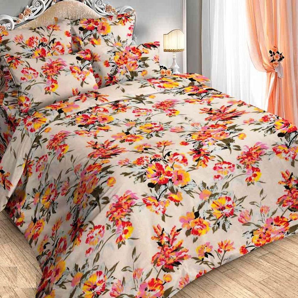 Комплект белья Letto Традиция, 2-спальный, наволочки 70x70, цвет: розовый комплект белья letto 2 спальный наволочки 70х70 цвет коричневый b21 4