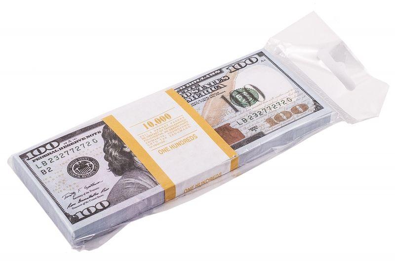 Пачка купюр долларов фото
