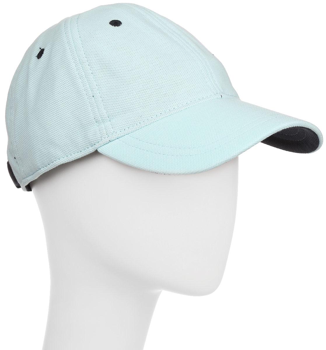 Бейсболка мужская Fred Perry Pique Classic Cap, цвет: голубой. HW1610-105. Размер универсальный