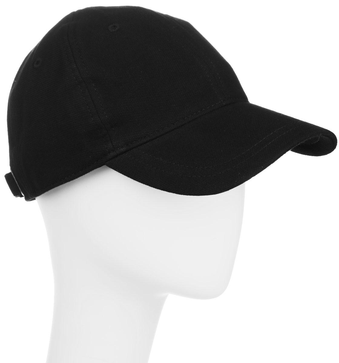 Бейсболка мужская Fred Perry Pique Classic Cap, цвет: черный. HW1610-102. Размер универсальныйHW1610-102