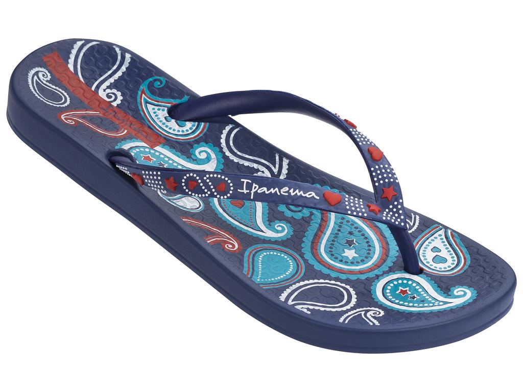 Купить Сланцы женские Ipanema, цвет: синий. 81922-20561. Размер BRA 36 (37)