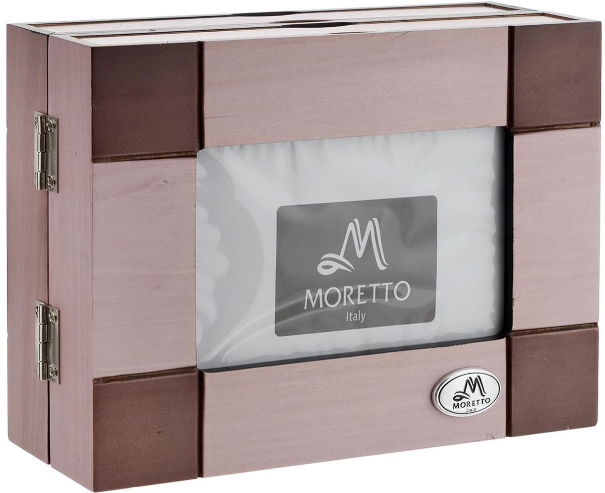 Фотоальбом архивный Moretto, на 48 фотографий 10 см х 15 см. 3818138181Оригинальный архивный фотоальбом Moretto, рассчитанный на 48 фотографий, выполнен в виде деревянного бокса нежно-розового цвета. Бокс содержит два альбома, каждый из которых рассчитан на 24 фотографии. Такой архивный альбом станет достойным украшением вашего интерьера и будет уникальным подарком вашим друзьям.Размер бокса (в сложенном виде): 18,5 х 6,5 х 14 см.Размер фотографии: 10 х 15 см.Количество фотографий: 48 шт.