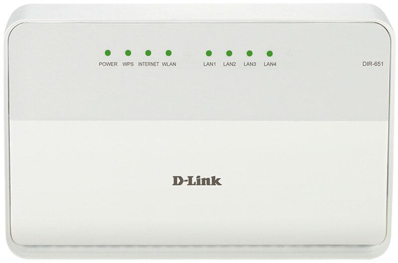 D-Link DIR-651/A/B1A маршрутизаторDIR-651/A/B1AИспользуя беспроводной маршрутизатор D-Link DIR-651/A/B1A, вы сможете быстро организовать высокоскоростную беспроводную сеть дома и в офисе, предоставив доступ к сети Интернет компьютерам и мобильным устройствам практически в любой точке. Маршрутизатор может выполнять функции базовой станции для подключения к беспроводной сети устройств, работающих по стандартам 802.11b, 802.11g и 802.11n (со скоростью до 300 Мбит/с).В маршрутизаторе реализовано множество функций для беспроводного интерфейса. Устройство поддерживает несколько стандартов безопасности (WEP, WPA/WPA2), фильтрацию подключаемых устройств по MAC-адресу, а также позволяет использовать технологии WPS и WMM.Кроме того, устройство оборудовано кнопкой для выключения/включения Wi-Fi-сети. В случае необходимости, например, уезжая из дома, Вы можете выключить беспроводную сеть маршрутизатора одним нажатием на кнопку, при этом устройства, подключенные к LAN-портам маршрутизатора, останутся в сети.Расширенные возможности беспроводной сетиВозможность настройки гостевой Wi-Fi-сети позволит вам создать отдельную беспроводную сеть с индивидуальными настройками безопасности и ограничением максимальной скорости. Устройства гостевой сети смогут подключиться к Интернету, но будут изолированы от устройств и ресурсов локальной сети маршрутизатора.Функция интеллектуального распределения Wi-Fi-клиентов будет полезна для сетей, состоящих из нескольких точек доступа или маршрутизаторов D-Link – настроив работу функции на каждом из них, вы обеспечите подключение клиента к точке доступа (маршрутизатору) с максимальным уровнем сигнала.Встроенный 4-портовый коммутатор маршрутизатора позволяет подключать компьютеры, оснащенные Ethernet-адаптерами, игровые консоли и другие устройства к вашей сети.Беспроводной маршрутизатор DIR-651 оснащен встроенным межсетевым экраном. Расширенные функции безопасности позволяют минимизировать последствия действий хакеров и предотвращают вторжения в сеть и