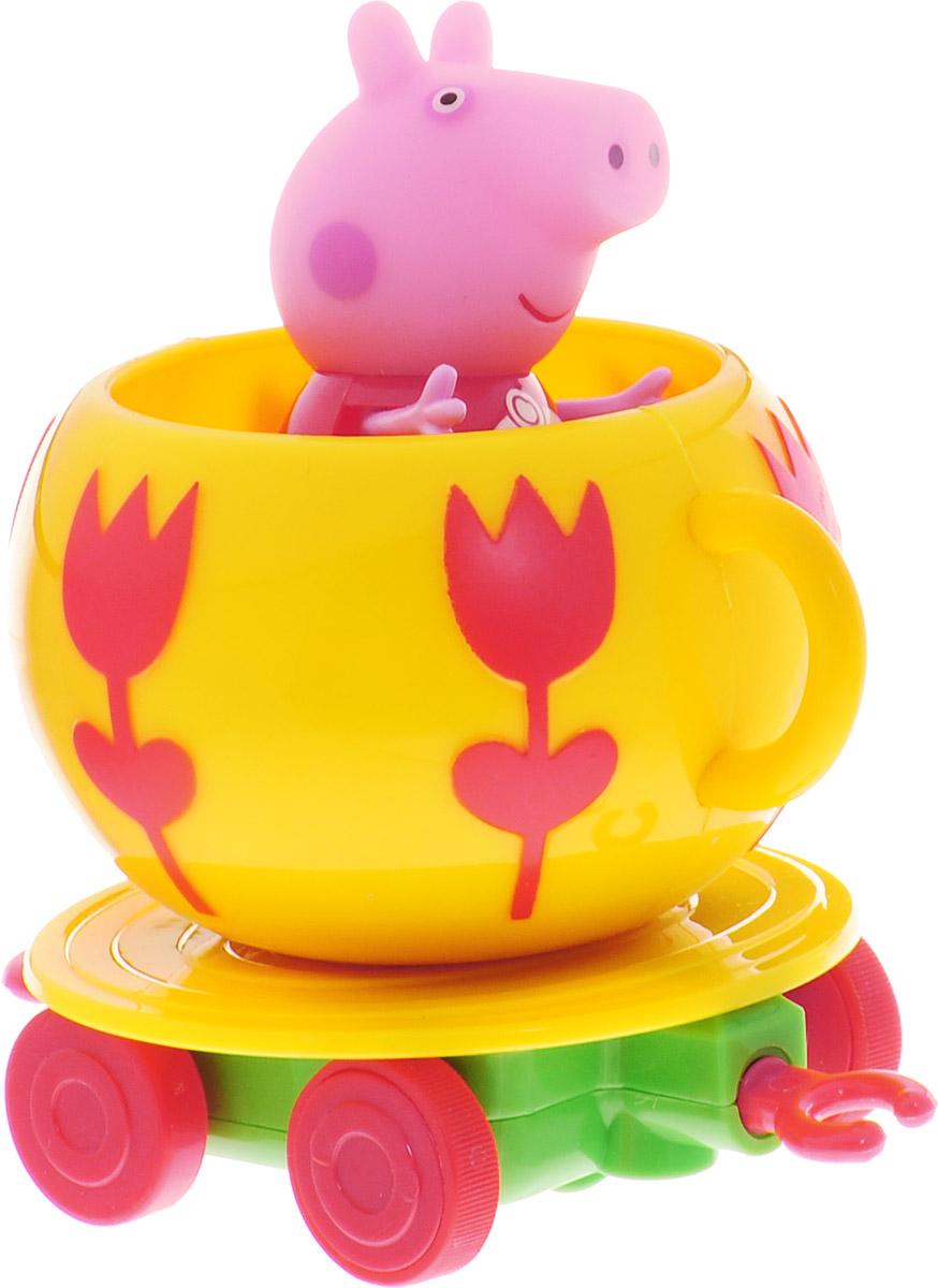Peppa Pig Игровой набор Каталка Чашка peppa pig набор ракета пеппы неваляшки peppa pig 28796
