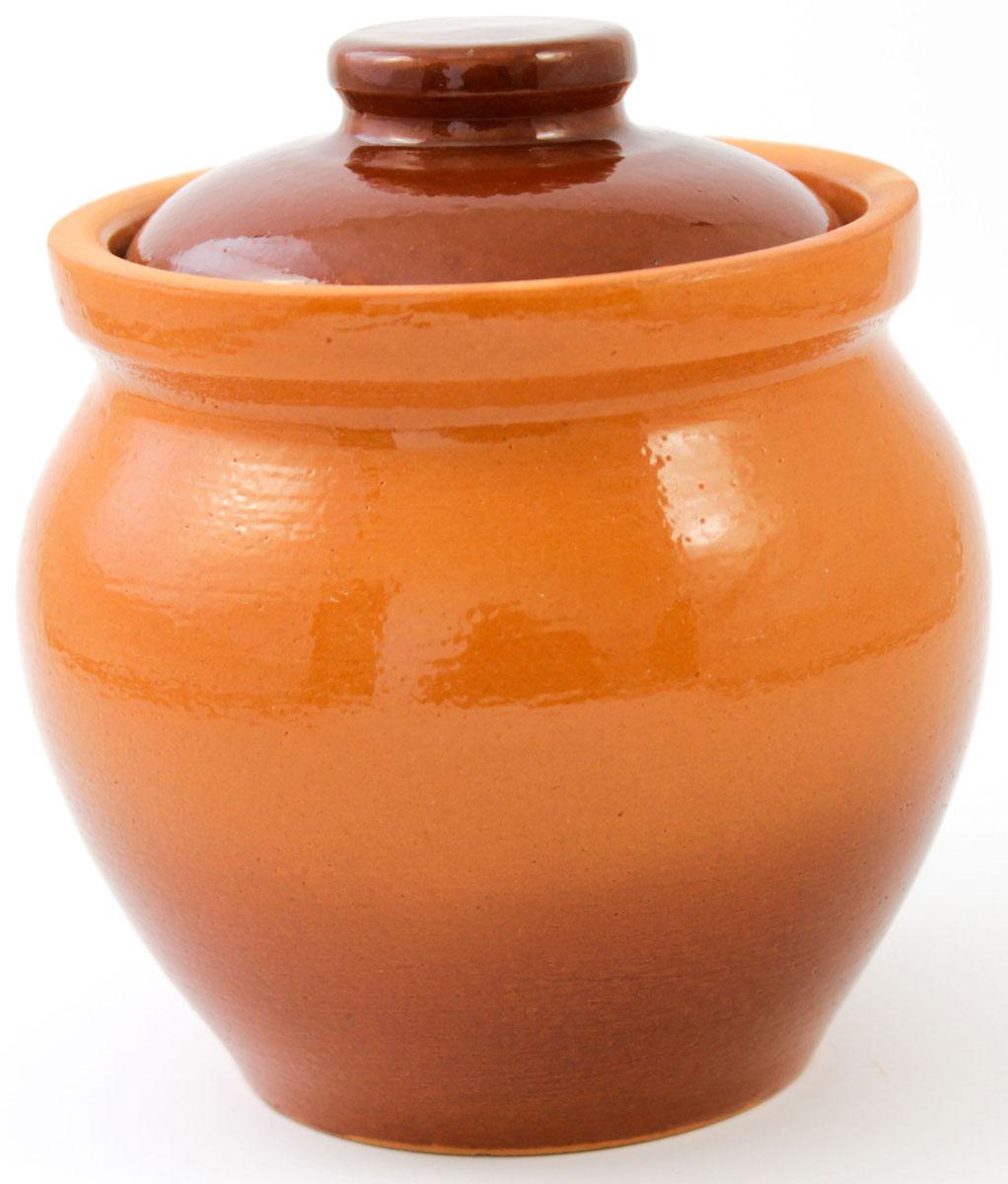 Горшок для запекания Ломоносовская керамика, с крышкой, 400 мл1Г3-10Горшок для запекания Ломоносовская керамика с крышкой выполнен из высококачественной глины. Уникальные свойства глины и толстые стенки изделия обеспечивают эффект русской печи при приготовлении блюд. Блюда, приготовленные в керамическом горшке, получаются нежными исочными. Вы сможете приготовить мясо, сделать томленые овощи и все это без капли масла. Этоодин из самых здоровых способов готовки.
