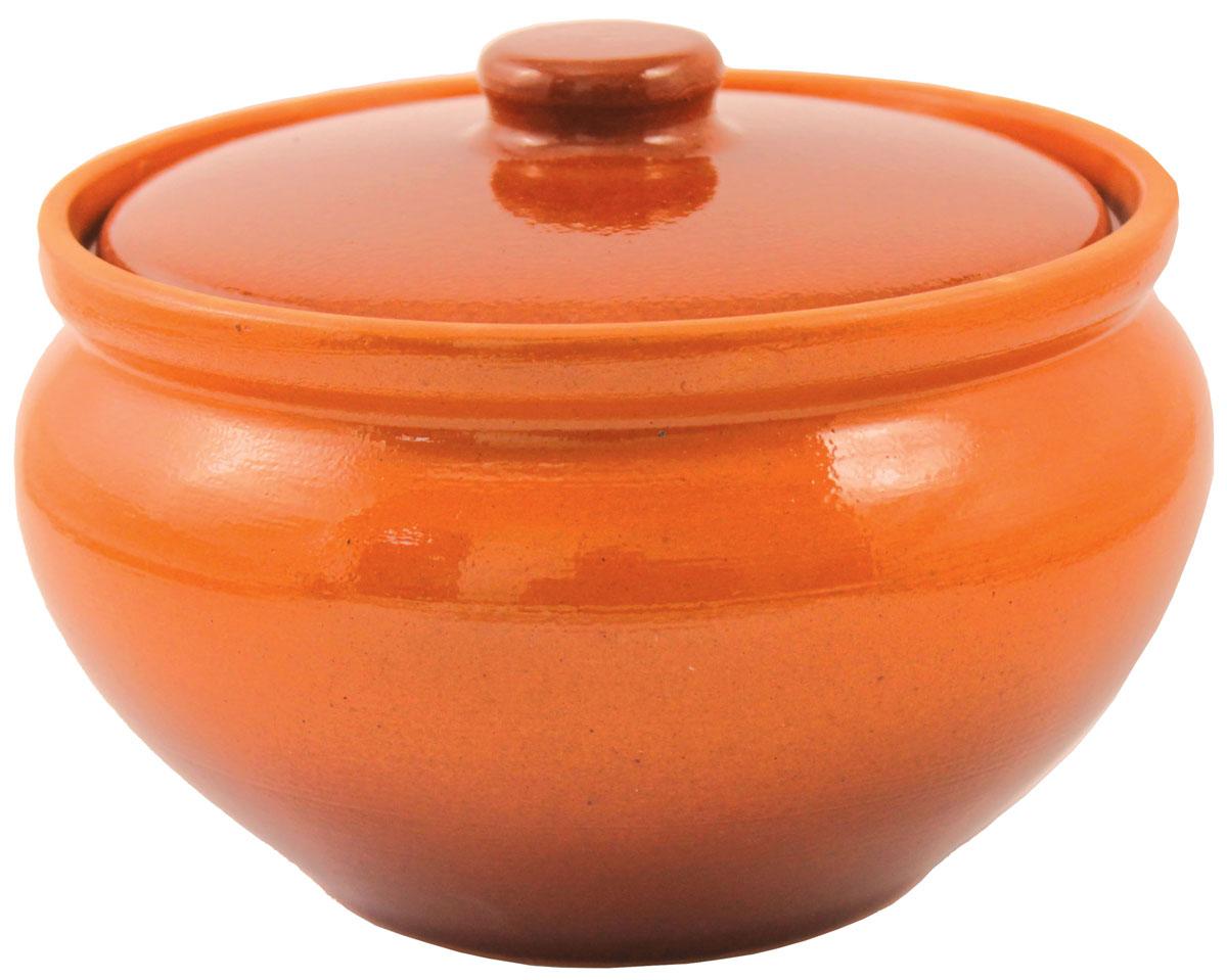 Горшок для запекания Ломоносовская керамика, с крышкой, 1 л1Г3-4Горшок для запекания Ломоносовская керамика с крышкой выполнен из высококачественной глины. Уникальные свойства глины и толстые стенки изделия обеспечивают эффект русской печи при приготовлении блюд. Блюда, приготовленные в керамическом горшке, получаются нежными исочными. Вы сможете приготовить мясо, сделать томленые овощи и все это без капли масла. Этоодин из самых здоровых способов готовки.
