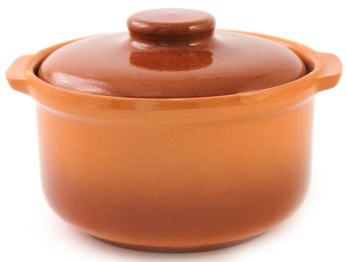 Кастрюля керамическая Ломоносовская керамика с крышкой, цвет: коричневый, 800 мл1ГС3-5Кастрюля Ломоносовская керамика выполнена из высококачественной глины. Покрытие абсолютно безопасно для здоровья, не содержит вредных веществ.Кастрюля оснащена удобными боковыми ручками и керамической крышкой. Она плотно прилегает к краям посуды, сохраняя аромат блюд.