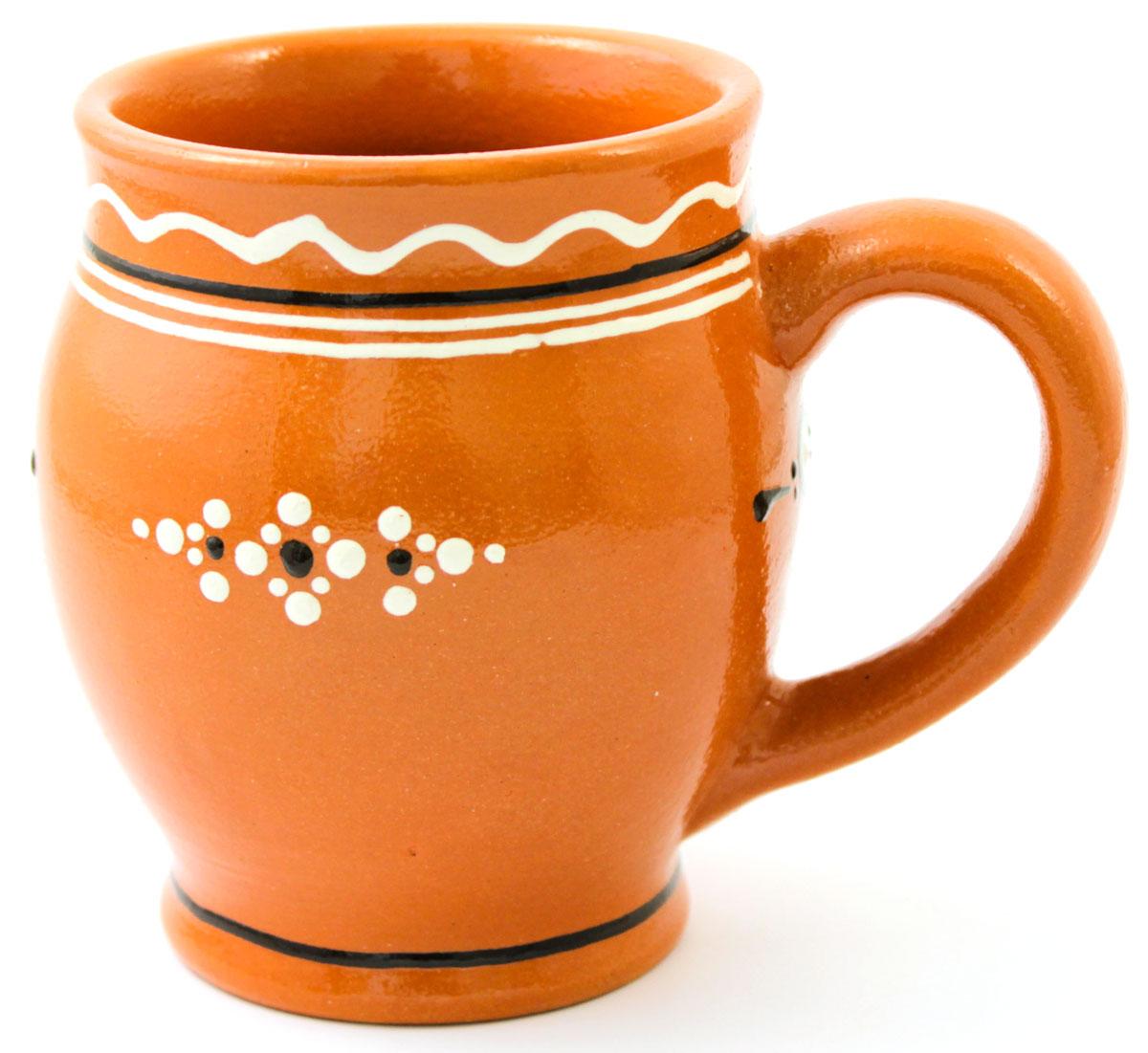 Кружка для кваса Ломоносовская керамика Оятские мотивы, 500 млЛ0724Кружка для кваса Ломоносовская керамика Оятские мотивы выполнена из высококачественной глины и оформлена оригинальным рисунком. Такая кружка прекрасно оформит стол и станет его неизменным атрибутом.