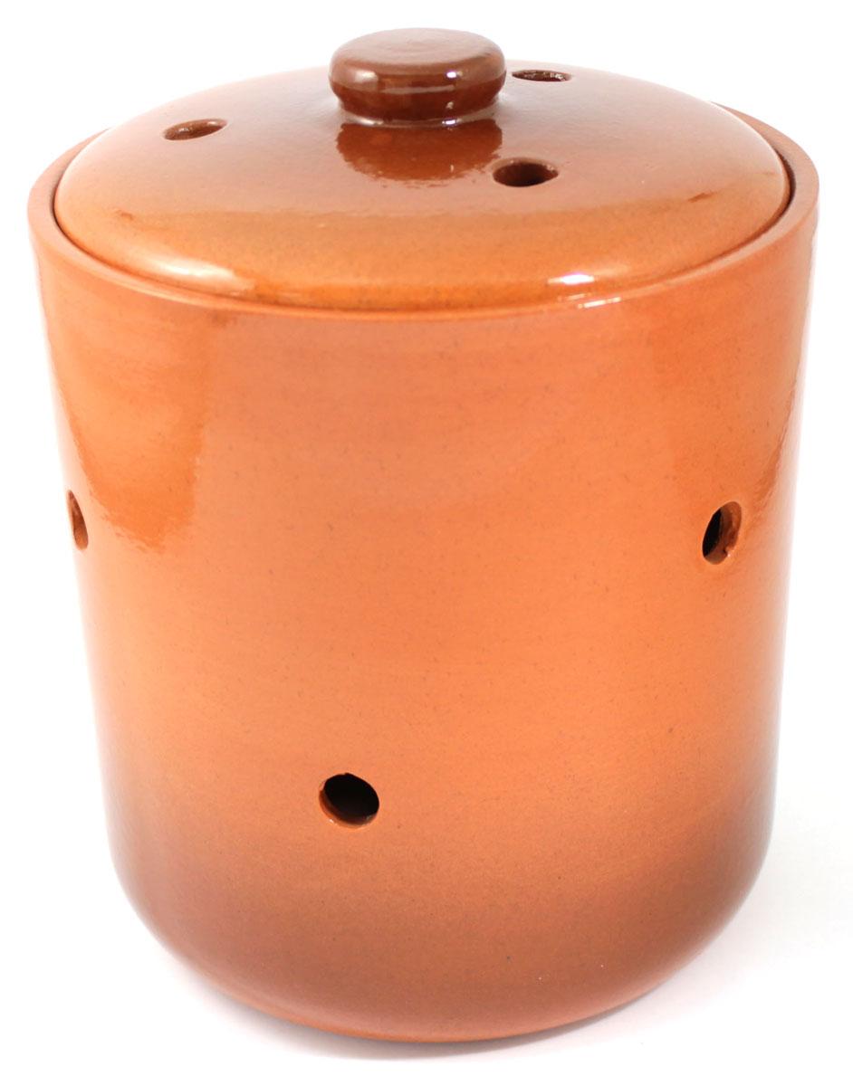 Банка для сыпучих продуктов Ломоносовская керамика, 2,5 л1Б3-2Банка для сыпучих продуктов Ломоносовская керамика, изготовленная из высококачественной глины, станет незаменимым помощником на любой кухне. В ней будет удобно хранить сыпучие продукты, такие, как чай, кофе, соль, сахар, крупы, макароны и многое другое. Емкость плотно закрывается крышкой. Яркий дизайн банки позволит украсить любую кухню, внеся разнообразие как в строгий классический стиль, так и в современный кухонный интерьер.