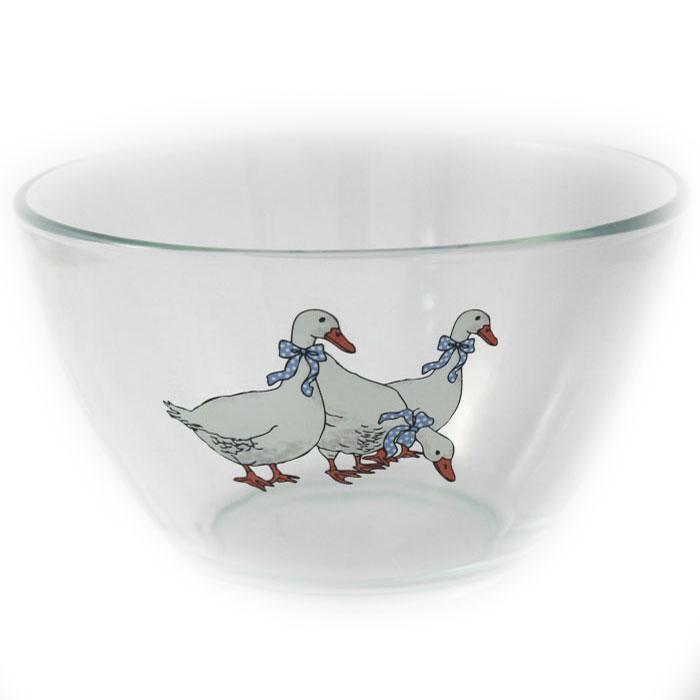 Салатник Ломоносовская керамика Гуси. Диаметр: 19 см. СаГ3-19СаГ3-19Салатник Ломоносовская керамика изготовлен из высококачественного стекла и оформлен рисунком. Такой салатник украсит сервировку вашего стола и подчеркнет прекрасный вкус хозяйки, а также станет отличным подарком. Диаметр: 19 см.