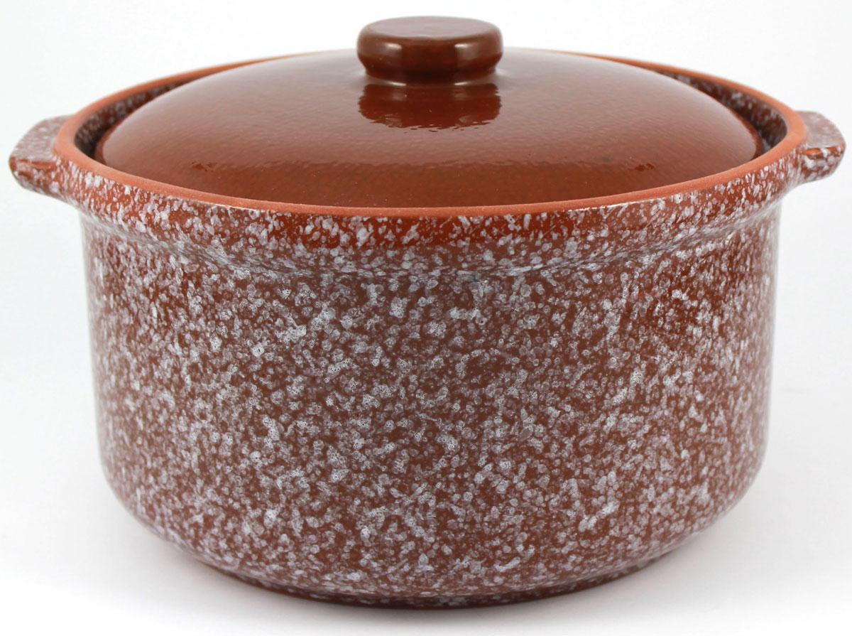 Кастрюля керамическая Ломоносовская керамика с крышкой, цвет: коричневый мрамор, 800 мл1ГС3мк-5Кастрюля Ломоносовская керамика выполнена из высококачественной глины. Покрытие абсолютно безопасно для здоровья, не содержит вредных веществ.Кастрюля оснащена удобными боковыми ручками и керамической крышкой. Она плотно прилегает к краям посуды, сохраняя аромат блюд.