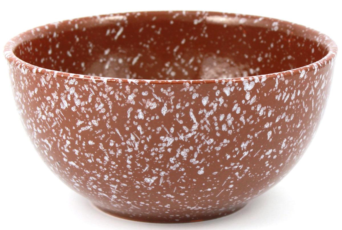 Салатник Ломоносовская керамика Мрамор, цвет: коричневый, 1 л, диаметр: 18 см. 1С3мк-21С3мк-2Салатник Ломоносовская керамика изготовлен из высококачественной глины с глазурованным покрытием. Такой салатник украсит сервировку вашего стола и подчеркнет прекрасный вкус хозяина, а также станет отличным подарком. Диаметр: 18 см.