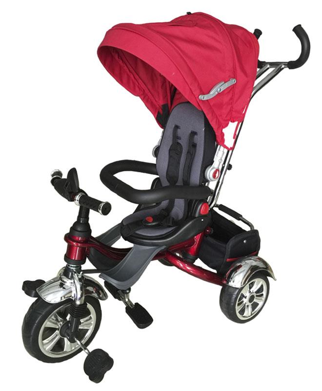 Pitstop Велосипед детский трехколесный цвет красный MT-BCL0815002 детский велосипед riverbike f 18 красный rivertoys