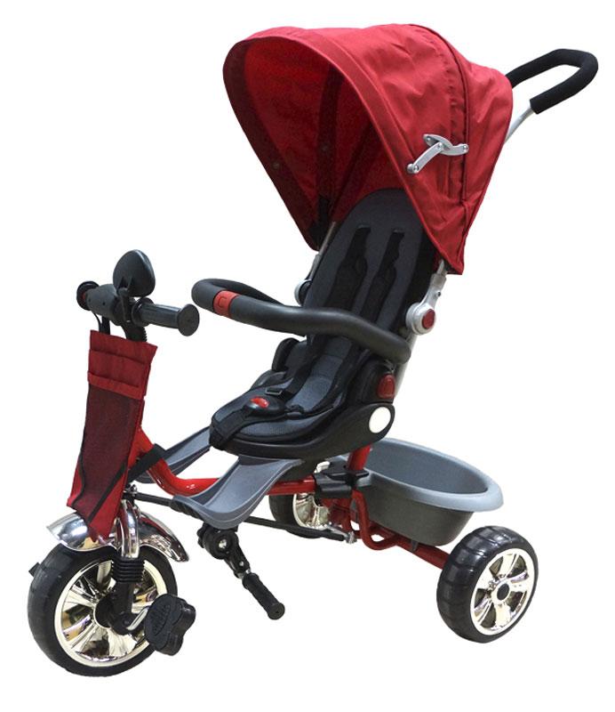 Pitstop Велосипед детский трехколесный цвет красный MT-BCL0815004