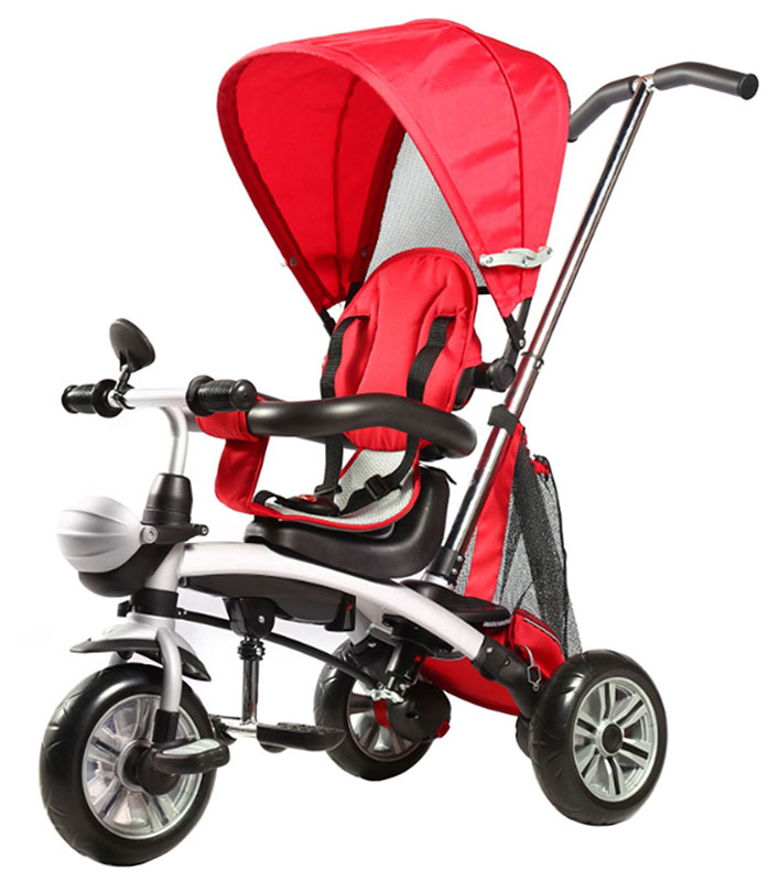 Pit Stop Велосипед-трансформер детский трехколесный цвет красный -  Велосипеды-каталки