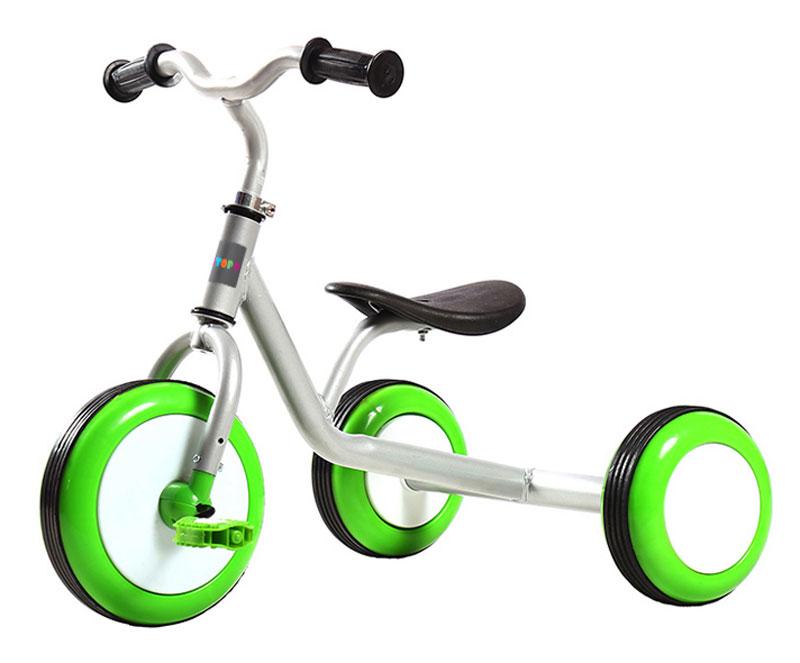 Pitstop Велосипед детский трехколесный цвет белый салатовыйMT-BCL0815010Детские трехколесный велосипед PitStop - это надежный велосипед для детей от 1 года, на котором очень легко начинать обучение езде на велосипеде, и который обязательно станет предметом гордости малыша. Достаточно только взглянуть на эту модель, чтобы понять, насколько удобно и безопасно будет чувствовать себя на этом велосипеде ваш сын или дочка. Это детское транспортное средство прекрасно управляется даже самыми неопытными маленькими велосипедистами, ведь его конструкция тщательно продумана с учетом того, что кататься на этом велосипеде будут малыши. Велосипед изготовлен из качественных и прочных материалов, которые обеспечат долгий срок службы.