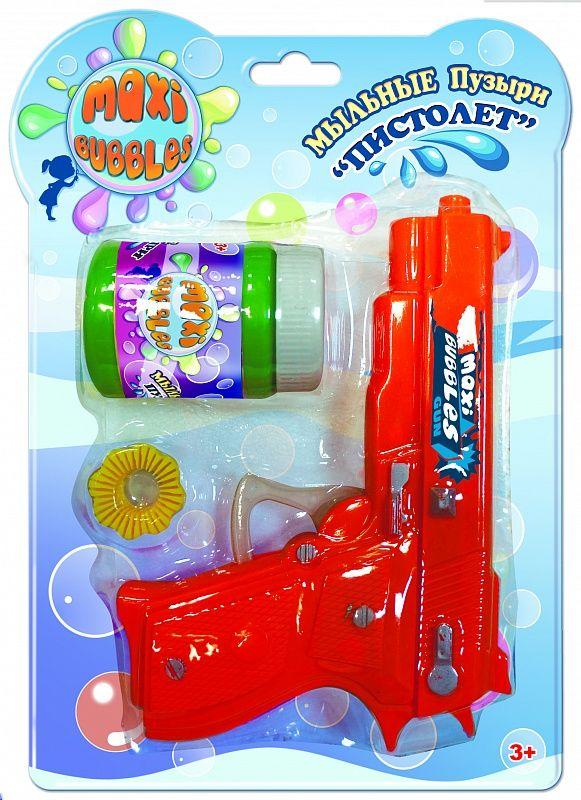 Maxibubbles Мыльные пузыри Пистолет 50 мл - Мыльные пузыри