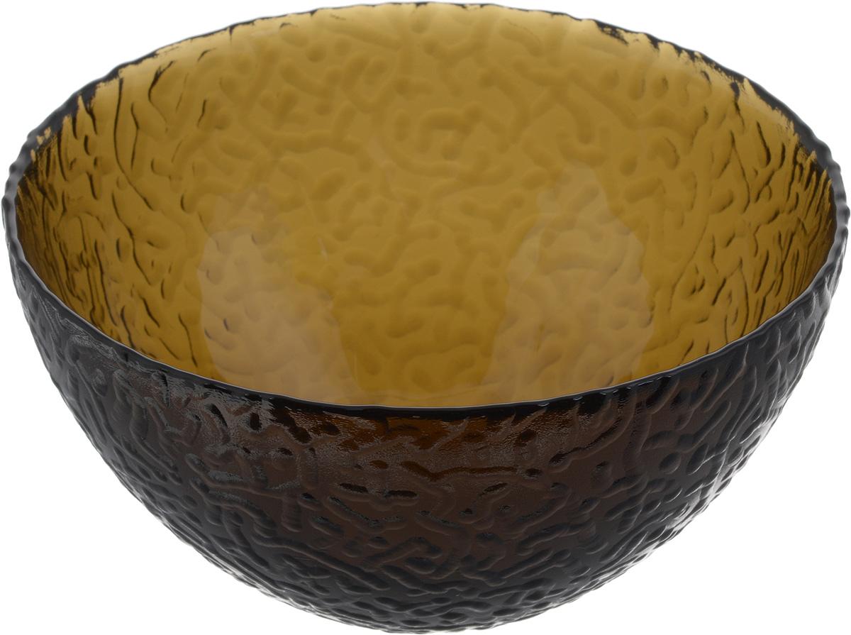 Салатник NiNaGlass Ажур, цвет: дымчатый, диаметр 16 см83-041-Ф160 ДЫМСалатник Ninaglass Ажур выполнен из высококачественного стекла и имеет рельефную внешнюю поверхность. Такой салатник украсит сервировку вашего стола и подчеркнет прекрасный вкус хозяйки, а также станет отличным подарком.Диаметр салатника (по верхнему краю): 16 см. Высота салатника: 8,5 см.