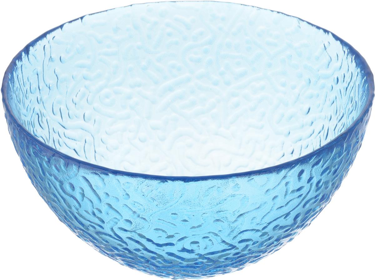 Салатник NiNaGlass Ажур, цвет: синий, диаметр 16 смDM9125Салатник Ninaglass Ажур выполнен из высококачественного стекла и имеет рельефную внешнюю поверхность. Такой салатник украсит сервировку вашего стола и подчеркнет прекрасный вкус хозяйки, а также станет отличным подарком.Диаметр салатника (по верхнему краю): 16 см.Высота салатника: 8,5 см.