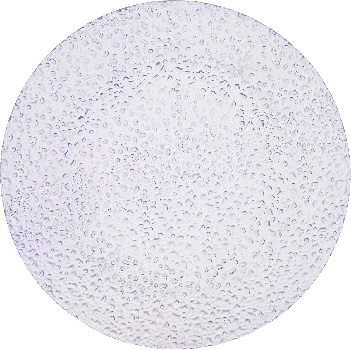 Тарелка Vellarti, цвет: светло-сиреневый, диаметр 22 см10-06 сирТарелка Vellarti выполнена из высококачественного стекла и имеет рельефную внешнюю поверхность. Она прекрасно впишется в интерьер вашей кухни и станет достойным дополнением к кухонному инвентарю. Тарелка Vellarti подчеркнет прекрасный вкус хозяйки и станет отличным подарком.Диаметр тарелки: 22 см.Высота: 1 см.