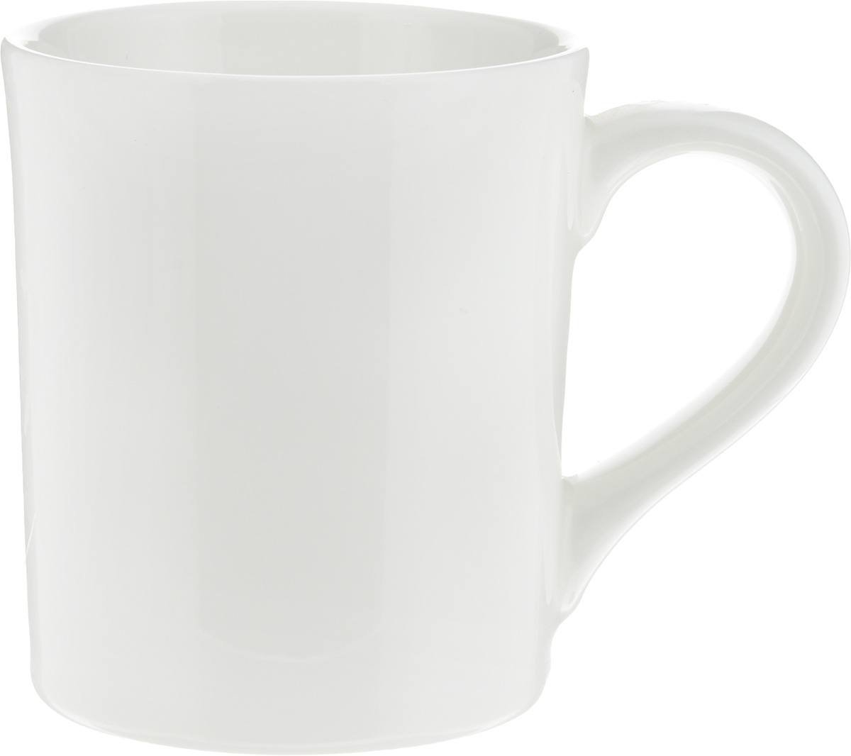"""Кружка Ariane """"Прайм"""" изготовлена из высококачественного фарфора с глазурованным покрытием. Такая кружка оригинально украсит стол, а пить чай или кофе станет еще приятнее.Можно мыть в посудомоечной машине и использовать в микроволновой печи.Диаметр кружки (по верхнему краю): 9 см. Высота салатника: 10,5 см."""
