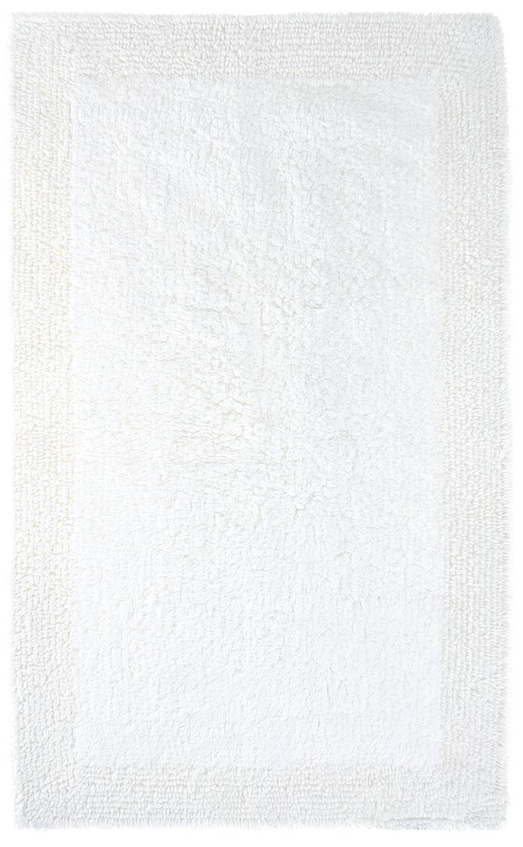 Коврик для ванной Togas, двусторонний, цвет: белый, 50 х 80 см10.00.08.0021Двусторонний коврик для ванной Togas, сделанный из натурального 100% хлопка, покорит мягкостью. В силу своей природной чистоты, он обладает богатым блеском. Элегантный дизайн, исключительная мягкость и прочность хлопковых нитей, использованных для изготовления этого изделия делают его неподражаемым. Коврик для ванной прост в уходе,обладает высокой степенью впитываемости, не образует катышков даже после многократных стирок, что подтверждается его внешней эластичностью и гладкостью.