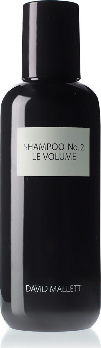 David Mallett Шампунь для придания объема волосам 250 млDMSHA02Густые волосы должны быть сильными и привлекательными – именно этих качеств не достает тонким волосам. Шампунь No2 c суперлегкой формулой не утяжеляет волосы, придавая им естественный, но заметный объем. Секрет сильных и густых волос – в японской водоросли нори, которая имеет высокую концентрацию аминокислот, железа, и?ода и микроэлементов, а также содержит большое количество витаминов A, B12 и витамина K. Медицинский эффект нори известен уже на протяжение двух с половиной тысячелетии?. Комплекс нори проникает глубоко в корни волос, укрепляя их изнутри, создавая долговременный объем и придавая волосам здоровый блеск. Процесс регенерации запускается изнутри, и волосы приобретают здоровую эластичность и становятся мягкими и послушными. Для более полного и долговременного эффекта рекомендуется использовать в паре со Спреем No2 ОБЪЕМ.