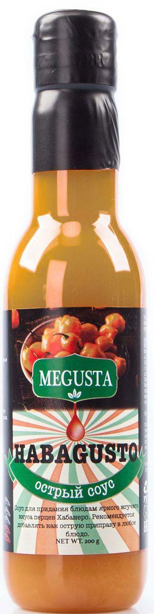 Megusta Habagusto соус острый перцовый, 200 г4680008982360Соус Megusta Habagusto для придания блюдам яркого жгучего вкуса перцев Хабанеро.Рекомендуется добавлять как острую приправу в любое блюдо.