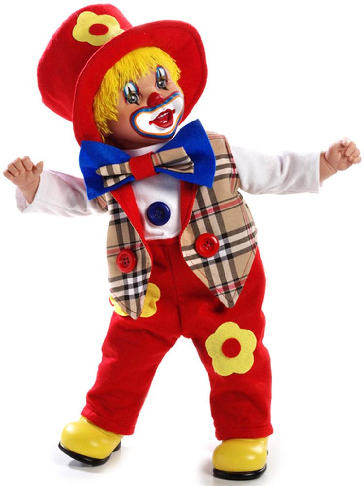 Arias Кукла Клоун 50 см Т59770 костюм озорного клоуна детский 32 34