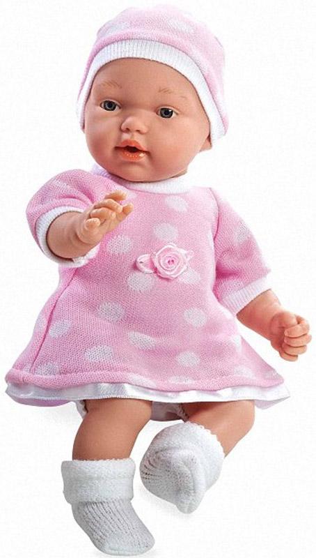 Arias Пупс цвет платья розовый белый arias пупс цвет платья белый розовый 42 см т59289