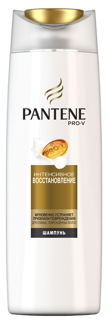 Pantene Pro-V Шампунь Интенсивное восстановление, для сухих и поврежденных волос, 400 мл81601097Благодарявосстанавливающей формуле с особыми веществами, питающими волосы на микроуровне, шампунь PantenePro-V Интенсивное восстановление помогает удерживать влагу глубоко внутри, придавая волосам здоровый внешний вид и блеск. Шампунь PantenePro-V Интенсивное восстановление борется с признаками повреждения и питает поврежденные или сухие волосы, делая их гладкими, сияющими и здоровыми. Для наилучших результатов используйте с бальзамом-ополаскивателем и средствами для ухода за волосами PantenePro-V Интенсивное восстановление.