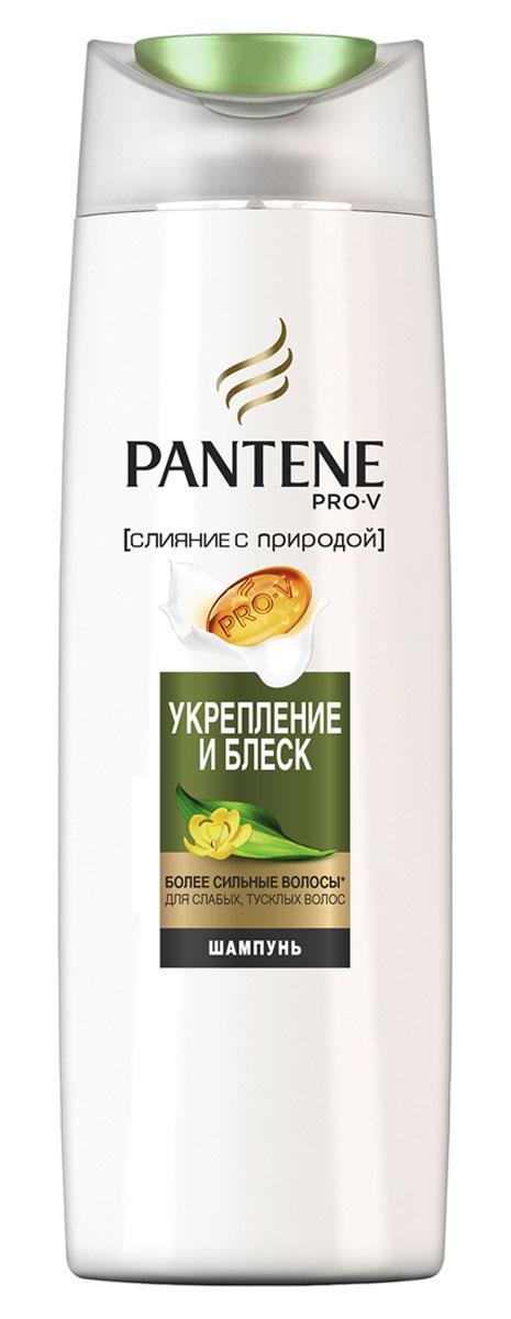 Pantene Pro-V Шампунь Слияние с природой. Укрепление и блеск, 400 мл pantene
