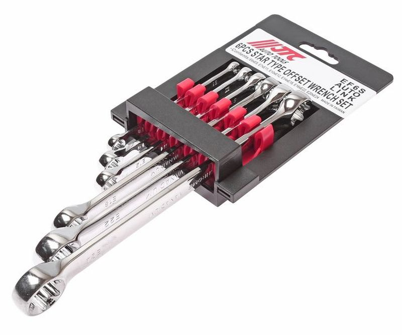 Набор накидных ключей JTC, 6 шт. JTC-EF6S