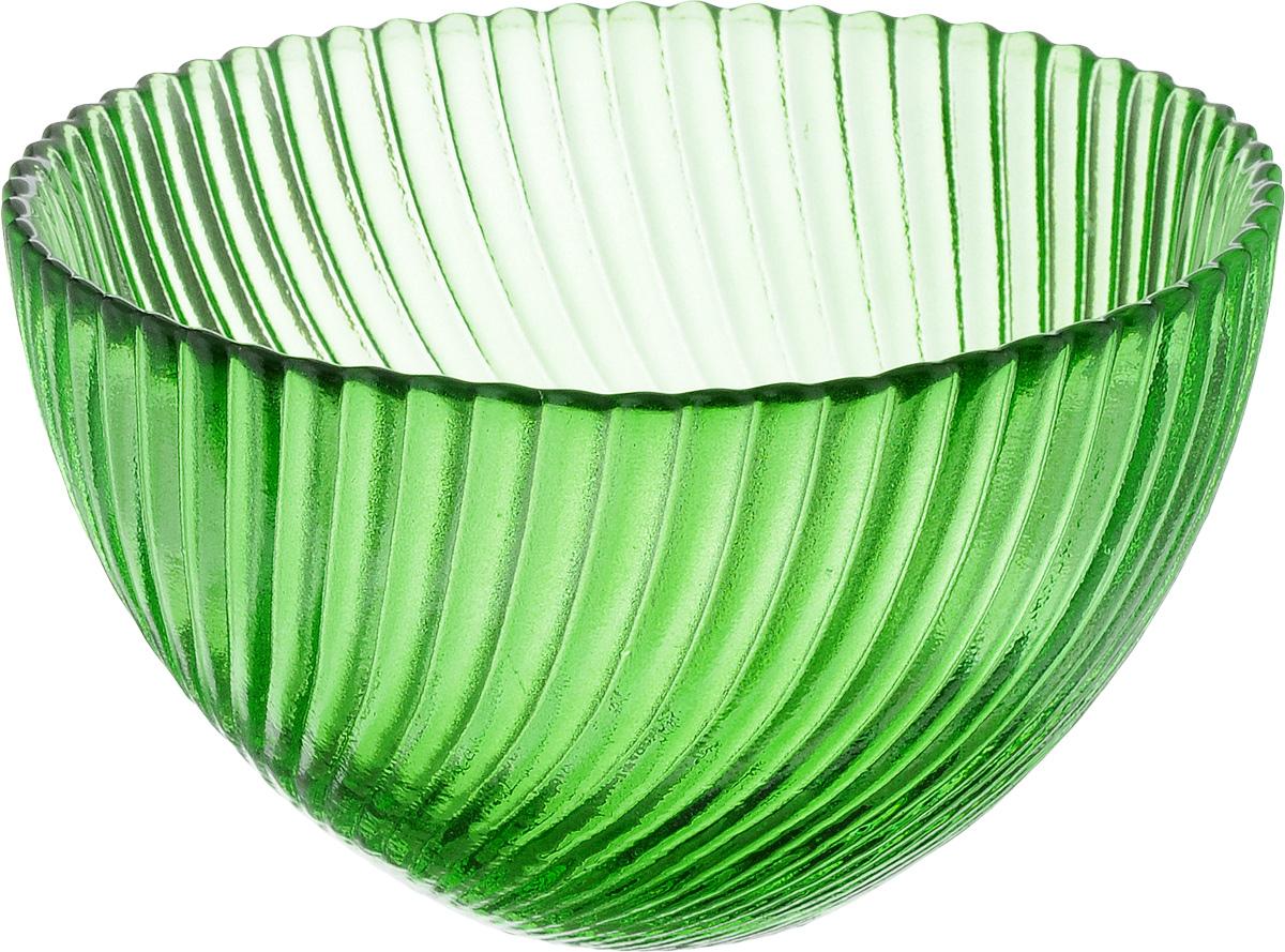 Салатник NiNaGlass Альтера, цвет: зеленый, диаметр 12 см83-036-ф120 ЗЕЛСалатник NiNaGlass Альтера изготовлен из прочного стекла. Идеально подходит для сервировки стола.Салатник не только украсит ваш кухонный стол и подчеркнет прекрасный вкус хозяйки, но и станет отличным подарком. Диаметр салатника (по верхнему краю): 12 см. Высота салатника: 7,5 см.