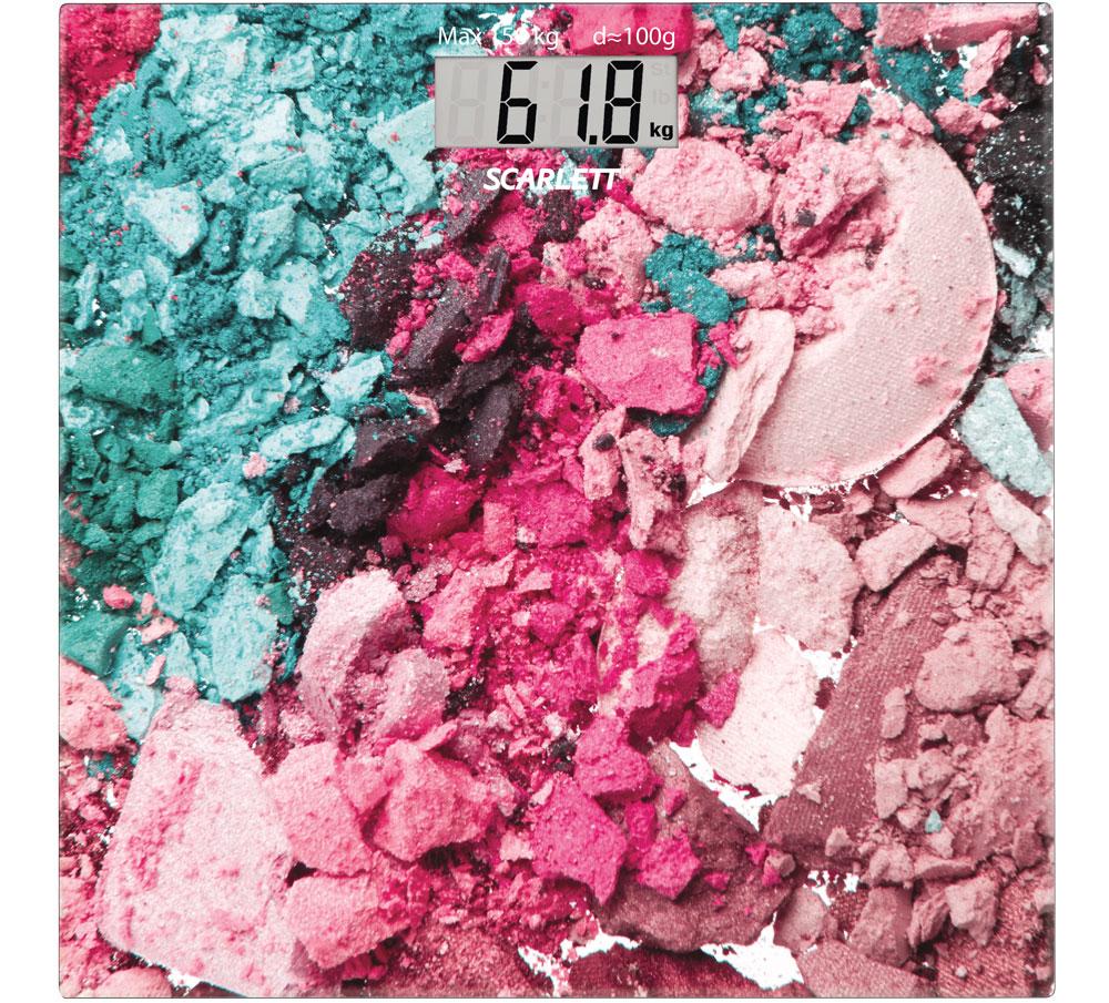 Scarlett SC-BS33E087, Multicolor весы напольные какой фирмы напольные весы лучше купить
