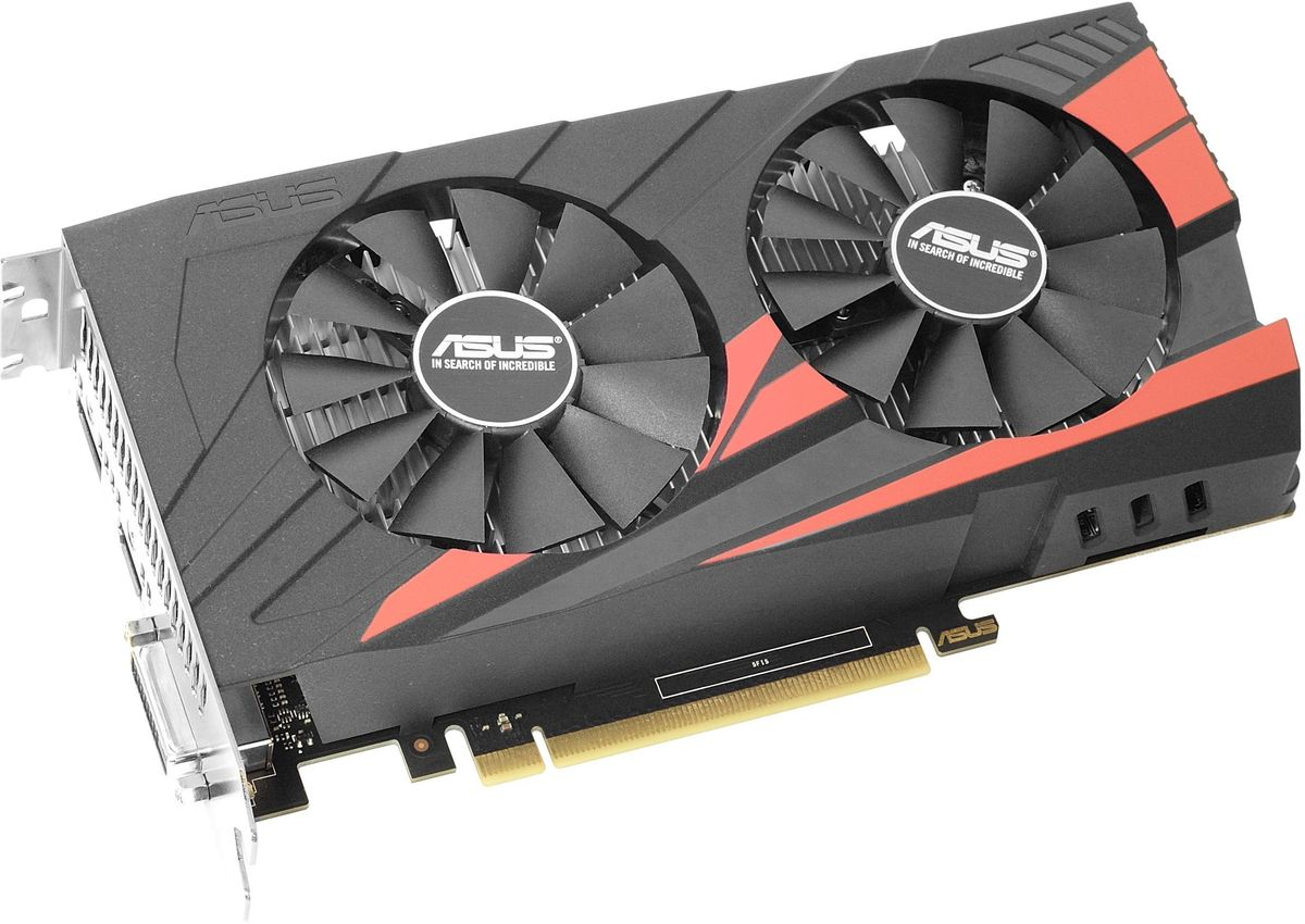 ASUS Expedition GeForce GTX 1050 2Gb видеокарта (EX-GTX1050-O2G)