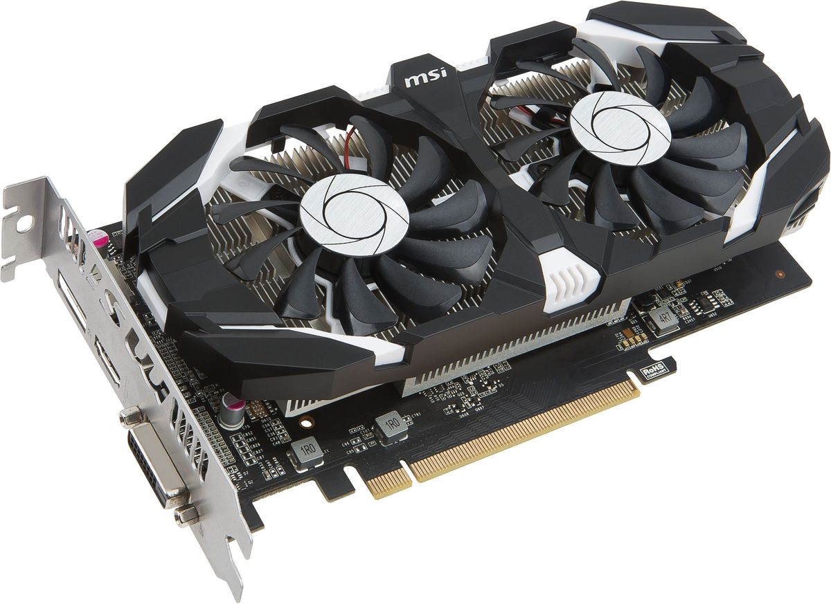 MSI GeForce GTX 1050 2GT OC 2Gb видеокарта