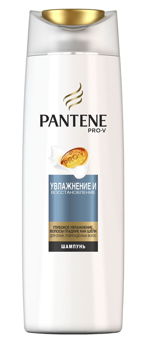 Pantene Pro-V Шампунь Увлажнение и восстановление, 250 мл81601054Шампунь PantenePro-V Увлажнение и восстановление содержит формулу Pro-V. Микровещества этой увлажняющей коллекции восстанавливают самые сухие участки волос и защищают естественный липидный слой. Результат- напитанные влагой, гладкие и шелковистые волосы. Средства коллекции Увлажнение и восстановление интенсивно увлажняют волосы, не утяжеляя их. Для наилучших результатов используйте с бальзамом-ополаскивателем и средствами для ухода за волосами PantenePro-V Увлажнение и восстановление.