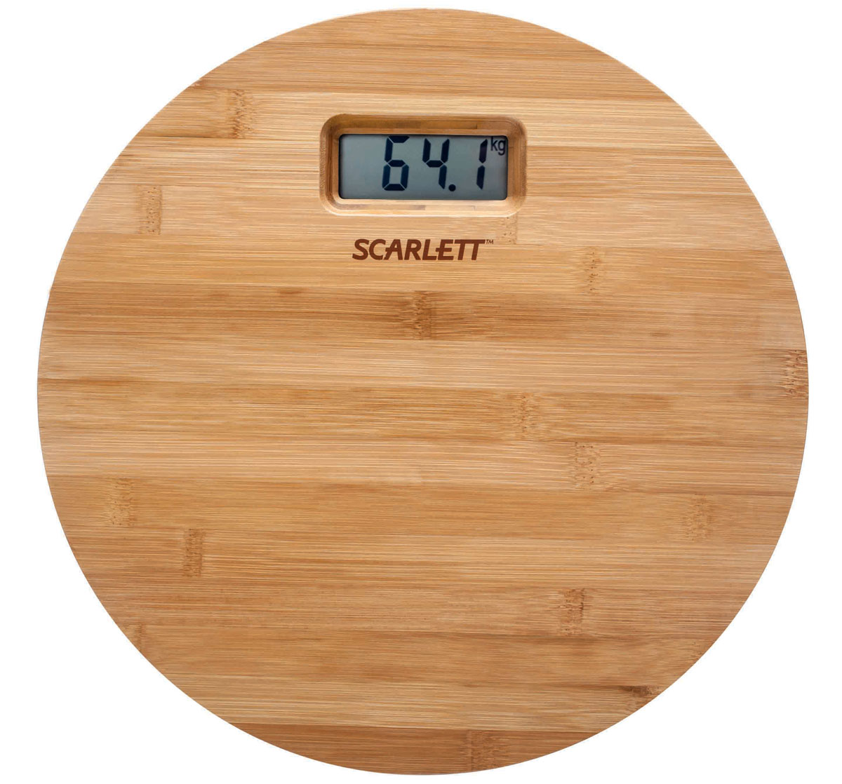 Scarlett SC-BS33E061, Bamboo весы напольные - Напольные весы