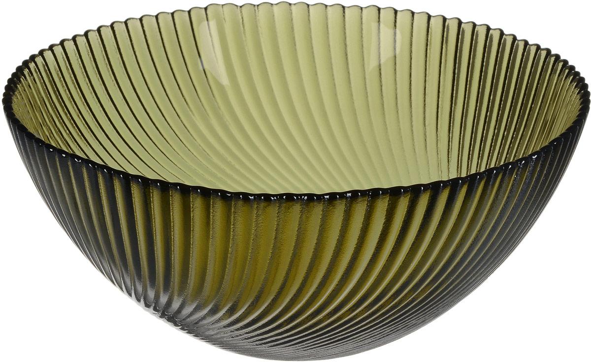 Салатник NiNaGlass Альтера, цвет: серо-зеленый, диаметр 20 см83-038-ф200 ДЫМСалатник NiNaGlass Альтера изготовлен из прочного стекла. Внешние стенки декорированы красивым рельефным узором. Он подойдет для сервировки стола, как для повседневных, так и для торжественных случаев.Диаметр салатника (по верхнему краю): 20 см. Высота салатника: 8,5 см.