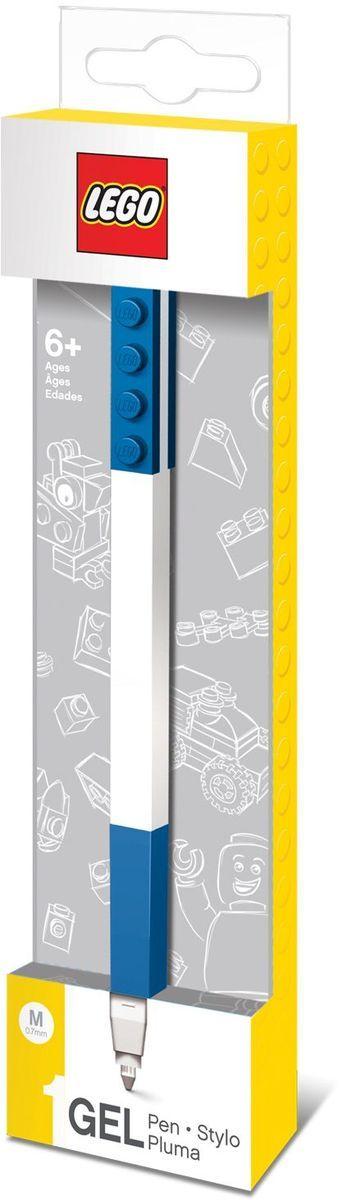 LEGO Гелевая ручка цвет чернил синий485514Гелевая ручка из уникальной коллекции канцелярских принадлежностей Lego с чернилами синего цвета.Ручка имеет пластиковый корпус с резиновой манжеткой, которая снижает напряжение руки. Ручка обеспечивает легкое и мягкое письмо, чернила быстро высыхают, не размазываются. Корпус ручки дополнен классической деталью конструктора Lego, что позволяет соединять ее с другими ручками и удобно хранить.