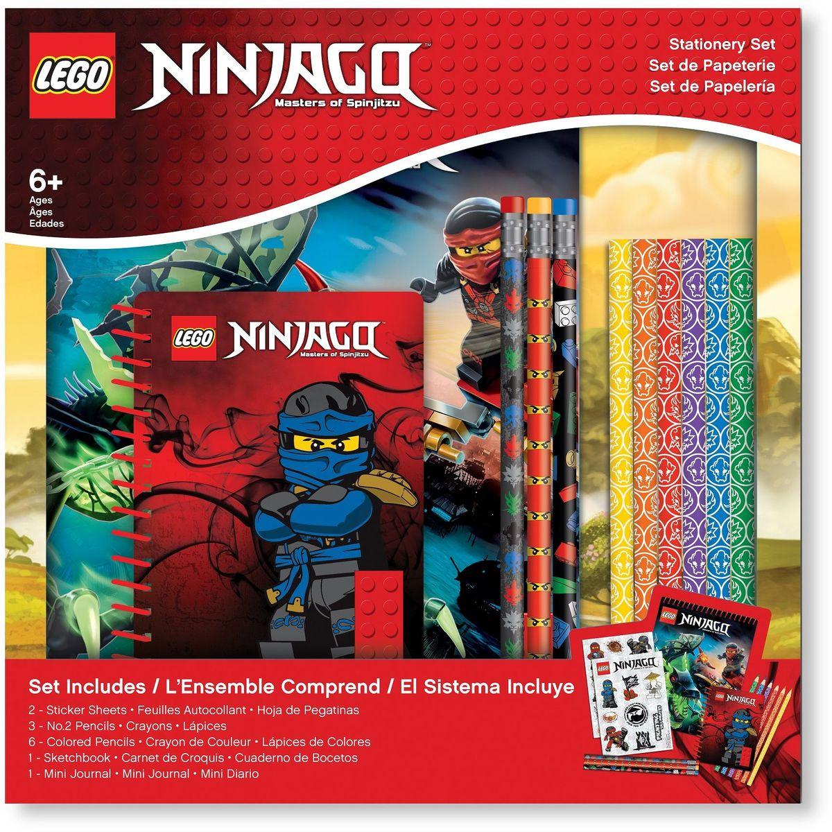 LEGO Ninjago Канцелярский набор 13 предметов 51631