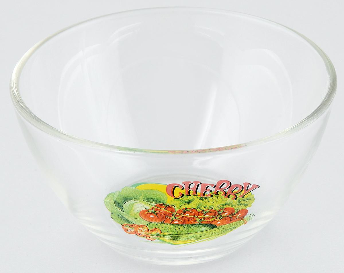 Салатник OSZ Черри, диаметр 10,5 см07с1322 ДЗ ЧЕРРИСалатник OSZ Черри изготовлен из бесцветного стекла и украшен ярким рисунком. Идеально подходит для сервировки стола.Салатник не только украсит ваш кухонный стол и подчеркнет прекрасный вкус хозяйки, но и станет отличным подарком. Объем салатника: 250 мл. Высота салатника: 6 см.